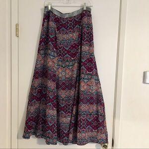 Anthropologie Rani maxi skirt by Vanessa Virginia
